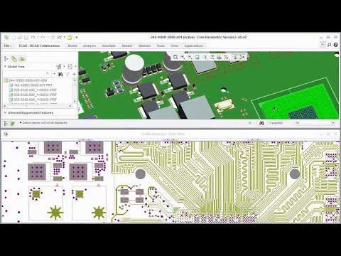 Thông tin về datasheet của PTC Creo View ECAD